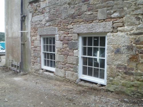 Burncoose House, Kitchen window