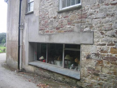 Burncoose House, Kitchen window before