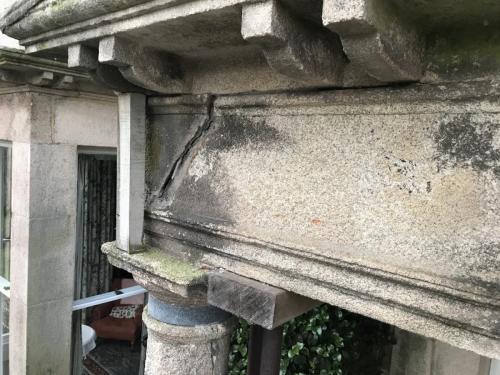 Penzance - Grade II Listed  Portico
