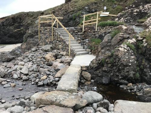 Kynance Cove - Steps